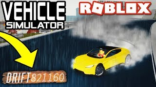 HIGHEST DRIFT SCORE EVER in VEHICLE SIMULATOR!! - Roblox