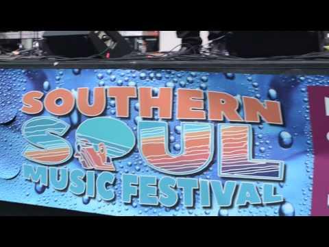 New Cupid sings, Cornbread & Greens at Southern Soul Music Festival Albany, Ga