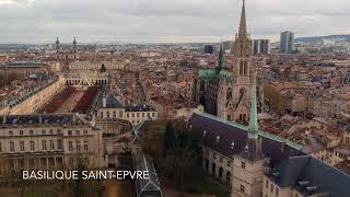 DJI Spark -  Flying a Drone in Nancy (France)