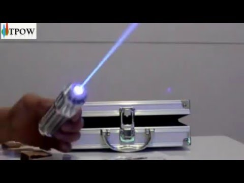 The world most powerful laser pointer Blue @htpow