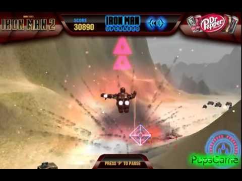 Бесплатные игры онлайн  Игра Железный Человек 2, Iron Man game, игры для детей