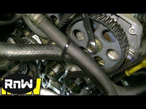 Kia Spectra Timing Belt Replacement - 1.8L DOHC Engine Part 2
