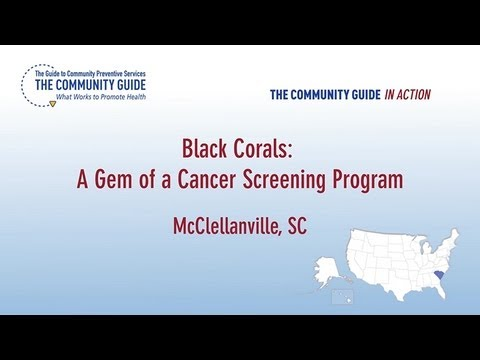 Black Corals Cancer Education