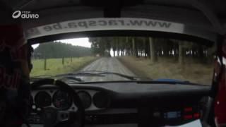 Onboard Thierry Neuville Legends Boucles de Bastogne Porsche 911 RS