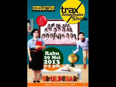 Interview JKT48 [Audio Only] on Radio Trax 101.4 FM Jakarta (Full Session) [29.05.2013]