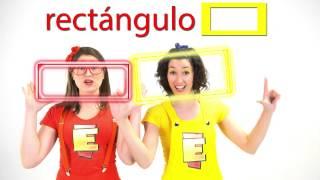 Figuras Geométricas en el Club de Cantando Aprendo a Hablar (Capítulo 8)