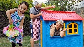 Öykü ve Baloncu Büyükanne Çok Komik Grandma and Garandpa Oyuncak Avı
