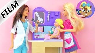 Cerita Barbie- Yana terjatuh dan kena periksa dengan doktor kanak-kanak Puan Sonnenschein
