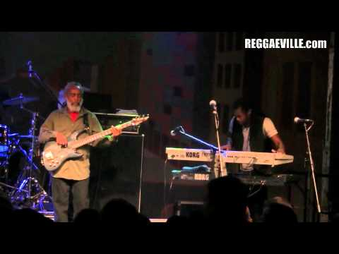 Dean Fraser & Blak Soil Band in Dortmund, Germany 7/16/2011