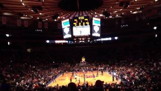 Knicks open practice at MSG