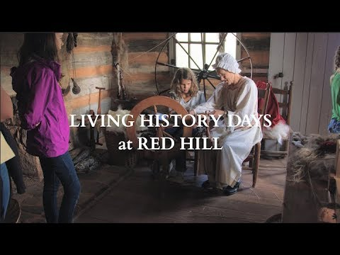 Living History Days at Red Hill