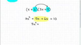 Use FOIL Method t๐ Multiply Polynomials Algebra