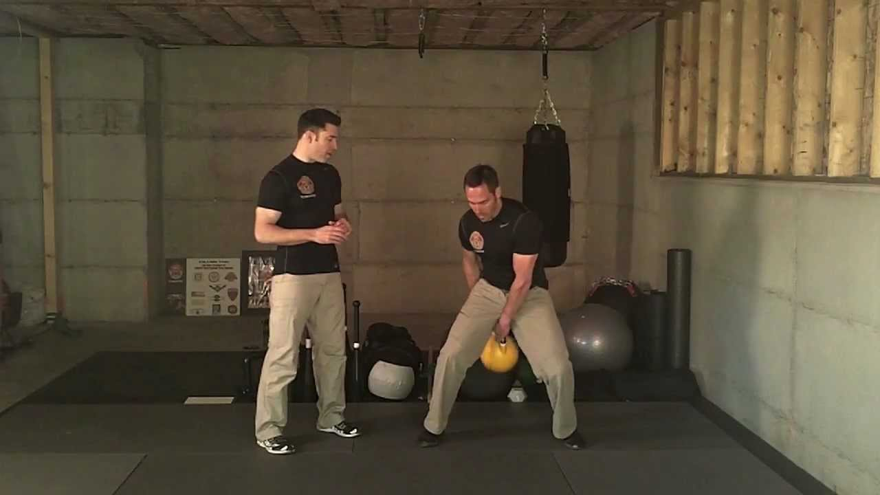 Kettlebell Figure 8 Tutorial