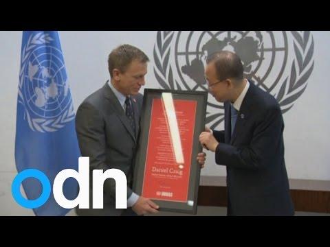 Bond star Daniel Craig gets special UN landmines mission