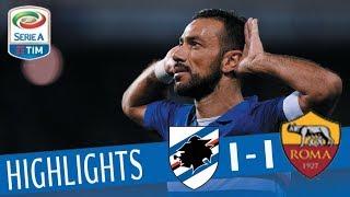 Sampdoria - Roma 1-1 - Highlights - Giornata 3 - Serie A TIM 2017/18