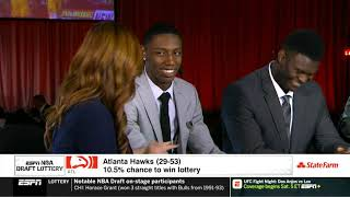 Zion Williamson & RJ Barrett Interview With Rachel Nichols Right B4 NBA Lottery..