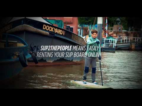 Jobe SUP2thepeople - rent a SUP-board in a few clicks