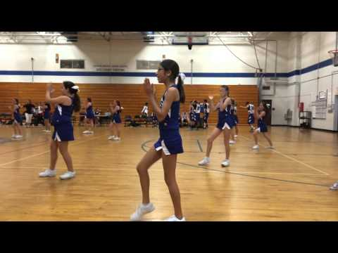 Jackson Heights Middle School Cheer Competition Routine April 2016
