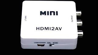 Konwerter HDMI2AV - prawie jak smart tv :) (WZT Elemis 5511stp) opis Thumbnail
