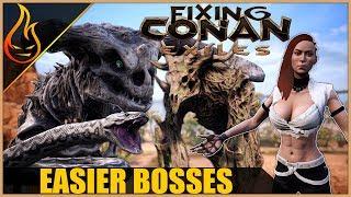 Single player boss HP Mod Spotlight | Fixing Conan Exiles