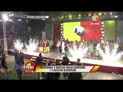 Mónica Lee y Daniel Domínguez son los campeones de Calle 7 Panamá