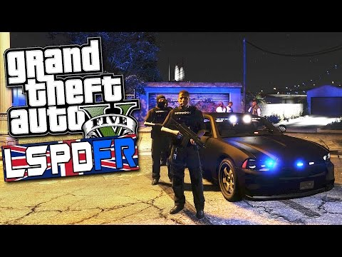 BRITISH GANG UNIT! | GTA 5 LSPDFR #28 - | GANG UNIT TEAM ON PATROL |