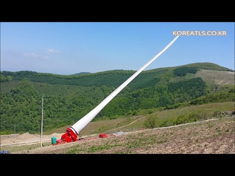wind turbine blade transport  www.koreatls.co.kr