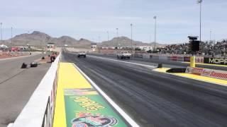 Dourlet's 1964 Plymouth Hemi at 2014 NHRA Las Vegas National