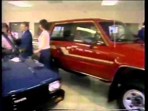 Modesto California Toyota Dealership 1986