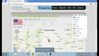 How to trace someone's location using their IP address (easy)