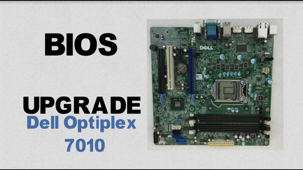 How to Update a Dell Computer's Bios    Optiplex 7010    0773VG