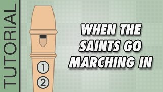 When the Saints Go Marching In - Recorder - Blue Belt