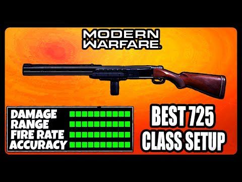 NEW OVERPOWERED 725 CLASS SETUP IN MODERN WARFARE! BEST 725 CLASS SETUP!