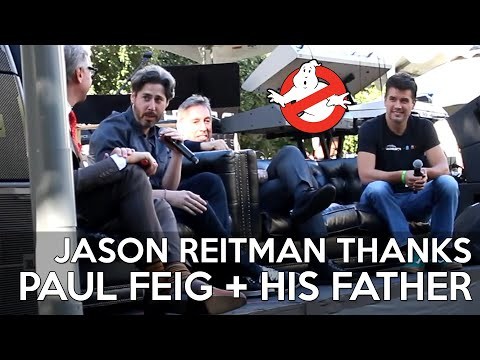 GHOSTBUSTERS FAN FEST EXCLUSIVE: Jason Reitman Thanks Paul Feig And His Father Ivan Reitman