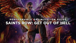 Saints Row: Gat out of Hell - How To Fix Lag/Get More FPS and Improve Performance