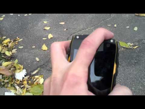 Краш-тест смартфона TeXet X-driver