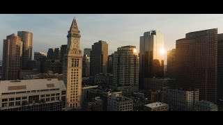 (Aerial Video) Exploring Boston Through a Drone |Travel |Dream |Discover