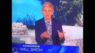 White Woman falls on Ellen Degeneres show while dancing | Giveaways finale 2016