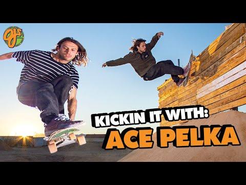 Van Livin' and Ramp Rippin' | Kicking It With: Ace Pelka | OJ Wheels
