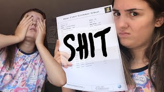 Opening my GCSE Results on Camera - LIVE REACTION