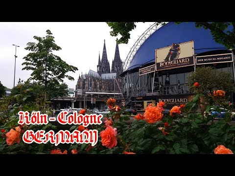 Travel by train to Cologne in Germany 2016