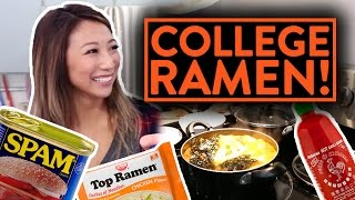 BEST RAMEN RECIPES TO MAKE IN COLLEGE!