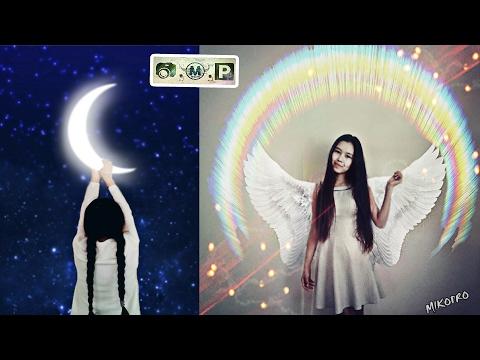 """Moon - Angel"" - Қазақша Фотошоп Picsart. Урок фотошоп Picsart. Picsart Tutorial Editor,  Edit"
