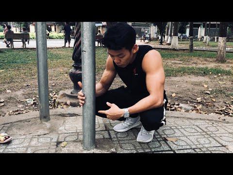 Hướng dẫn cách làm xà đơn & xà kép - Street Workout Làng Hoa