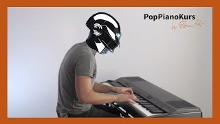 Daft Punk - Get Lucky Piano Cover Instrumental