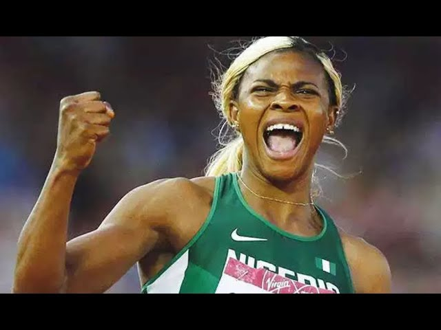 Blessing Okagbare 22.04 (0.5) Breaks 22yr old African 200m Record Wes Kittley Invitational 2018