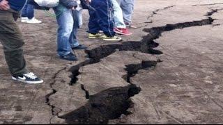 عاجل  شاهد لحظة ضرب زلزال قوي مدينة الحسيمة