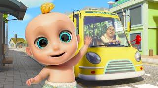Las ruedas del autobús - Rimas y canciones infantiles | LooLoo YouTube Videos