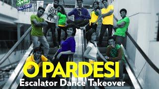 Escalator Dance Takeover - O PARDESI | DevD| SPRITE TILL I DIE2
