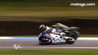 MotoGP action from Phillip Island 2009